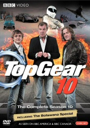 Top Gear: The Complete Season 10 DVD cover art
