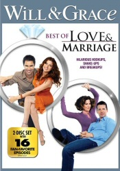 Will and Grace: Best of Love and Marriage DVD cover art
