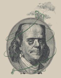 Franklinstein from Threadless