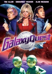 Galaxy Quest DVD cover art