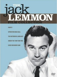 Jack Lemmon Film Collection DVD cover art
