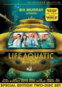 The Life Aquatic With Steve Zissou DVD cover art