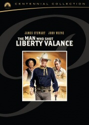 The Man Who Shot Liberty Valance DVD cover art