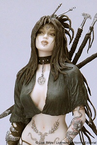 Medusa's Gaze by Luis Royo