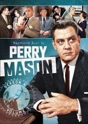 Perry Mason Season 4, Vol. 1 DVD cover art