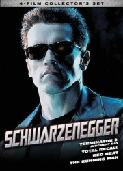 Schwarzenegger Collection DVD cover art