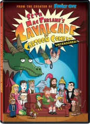 Seth MacFarlane: Cavalcade of Cartoon Comedy DVD cover art