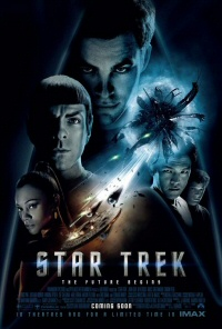 Star Trek (2009) movie poster art
