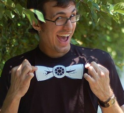 Bow Tie Fighter from Snorg Tees