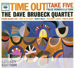 Dave Brubeck: Time Out CD/DVD Legacy Edition cover art