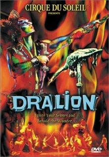 Cirque du Soleil: Dralion DVD cover art