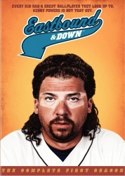 Eastbound and Down: the Complete First Season DVD cover art