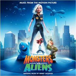 Monsters vs. Aliens Soundtrack cover art