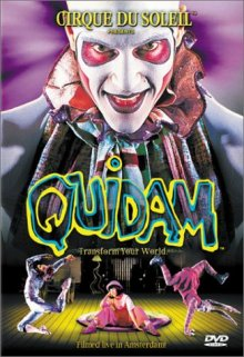 Quidam DVD cover art
