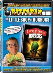 Rifftrax: Little Shop of Horrors DVD cover art