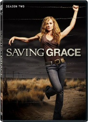 Saving Grace: Season Two DVD cover art