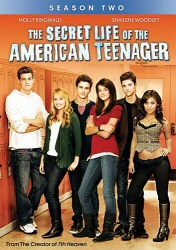 Secret Life of the American Teenager: Season Two DVD cover art