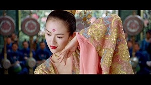 Zhang Ziyi from House of Flying Daggers