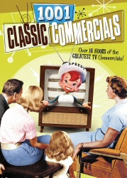 1001 Classic Commercials DVD cover art