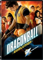 Dragonball Evolution DVD cover art