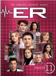ER: The Complete Eleventh Season DVD cover art
