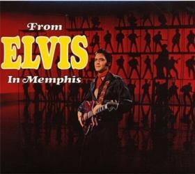 From Elvis in Memphis CD cover art