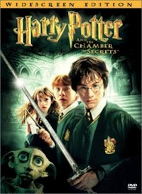harry potter chamber of secrets dvd cover