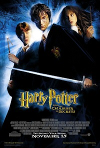 harry potter chamber of secrets movie poster