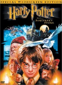 Harry Potter and the Sorcerer's Stone DVD cover art