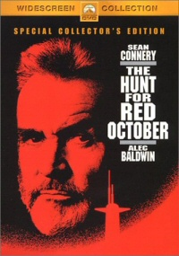 The Hunt for Red October DVD cover art