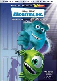 monsters inc dvd cover
