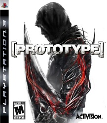 Prototype for the PS3 game cover art