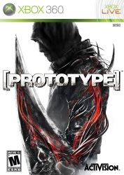Prototype Xbox 360 game cover art