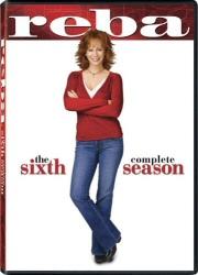 Reba: The Complete Sixth Season DVD cover art