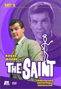 The Saint: Set 5 DVD cover art