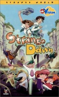 strange dawn volume 1 dvd cover
