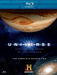 The Universe: The Complete Season Two Blu-Ray cover art