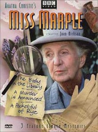 agatha christies miss marple dvd cover