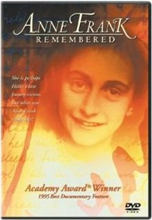 Anne Frank Remembered DVD cover art