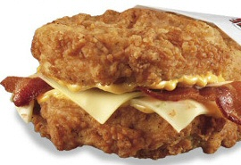 Double Down Sandwich by KFC