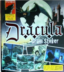 Dracula Pop-Up book cover art