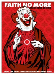Faith No More clown poster