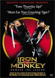 Iron Monkey DVD cover art