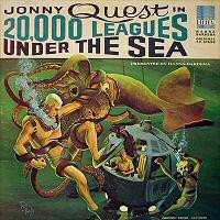 Jonny Quest in 20,000 Leagues Under the Sea vinyl
