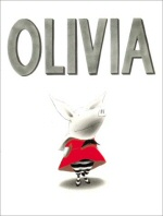 Olivia book cover art