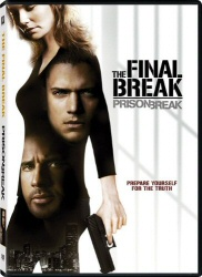 Prison Break: The Final Break DVD cover art