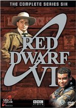 Red Dwarf: The Complete Series Six DVD cover art