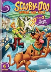 Scooby-Doo, Where Are You!: Season One, Vol. 3 - Hello Mummy DVD cover art