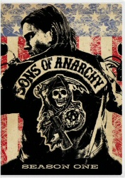 Sons of Anarchy: Season One DVD cover art