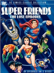 SuperFriends: The Lost Episodes DVD cover art